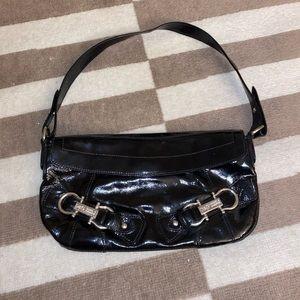 Dolce & Gabbana Patent Leather Black Baguette